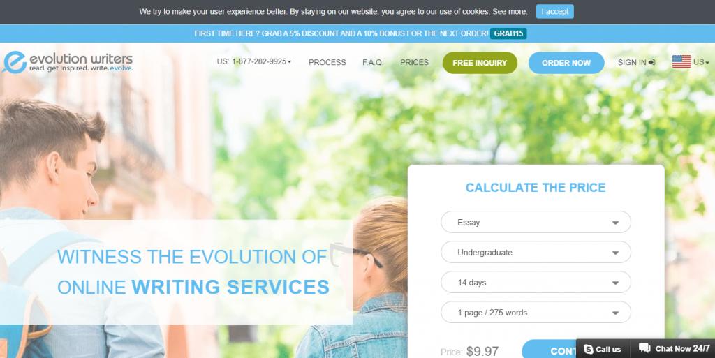 evolutionwriters discount code